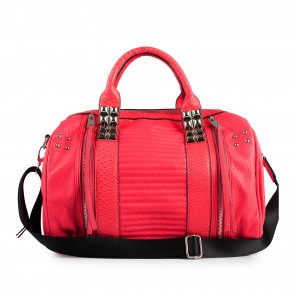 Red Travel Handbag